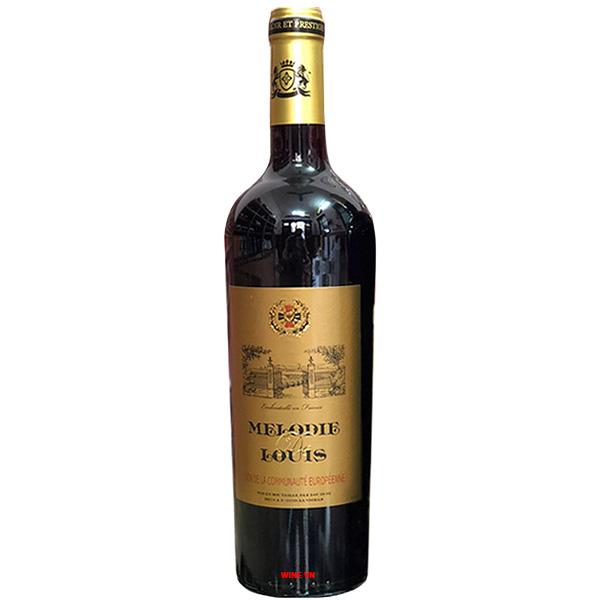 Rượu Vang Pháp Melodie De Louis