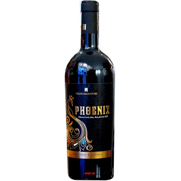 Rượu Vang Phoenix Primitivo Limited Edition