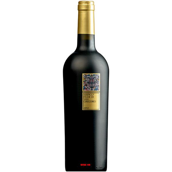 Rượu Vang Serpico Feudi San Gregorio Irpinia