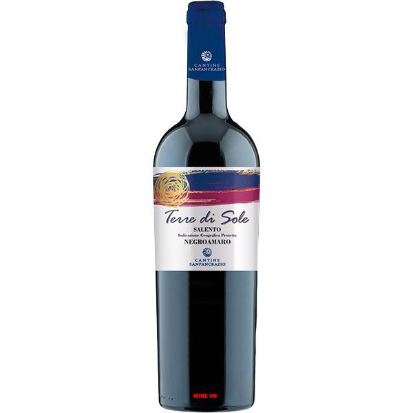 Rượu Vang Terre Di Sole Salento Negroamaro