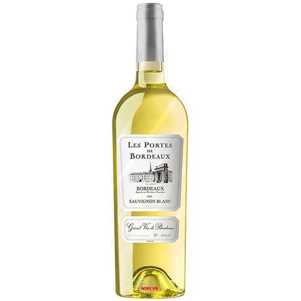 Rượu Vang Trắng Les Portes De Bordeaux Sauvignon Blanc