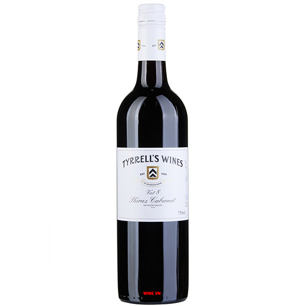 Rượu Vang Tyrrell's VAT 8 Shiraz - Cabernet Sauvignon