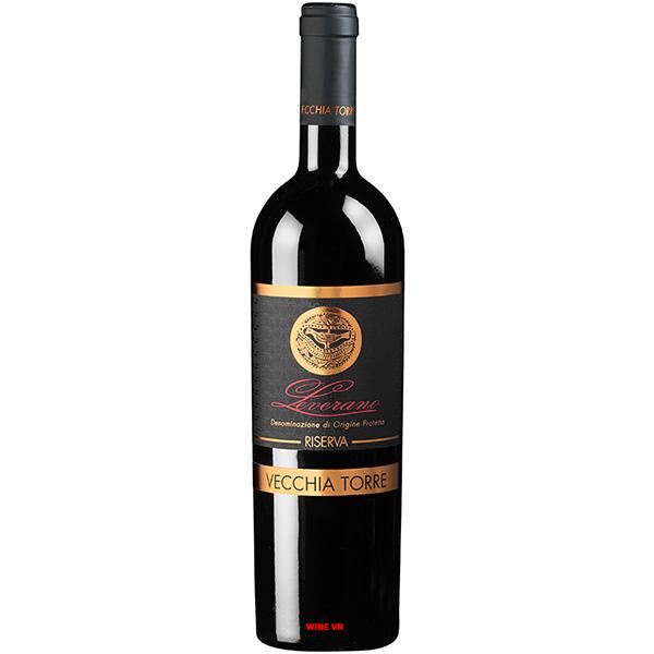 Rượu Vang Vecchia Torre Leverano Riserva
