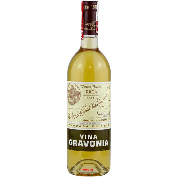 Rượu Vang Viña Gravonia Blanco Crianza