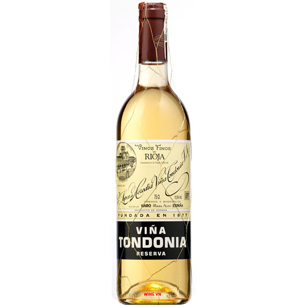 Rượu Vang Viña Tondonia Blanco Reserva