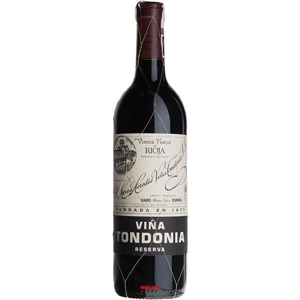Rượu Vang Vina Tondonia Tinto Reserva