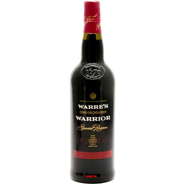 Rượu Vang Warre's Warrior Special Reserve
