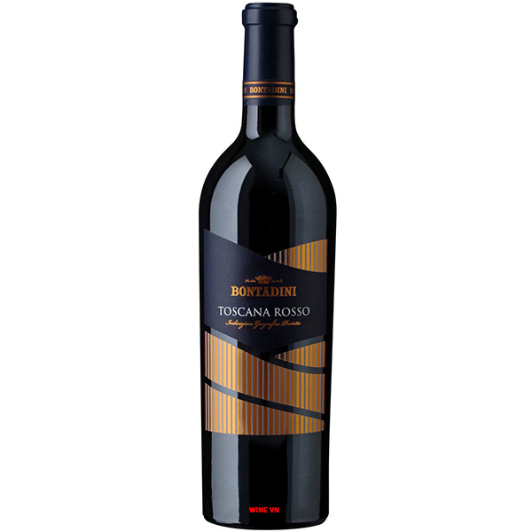 Rượu Vang Ý Bontadini Toscana Rosso