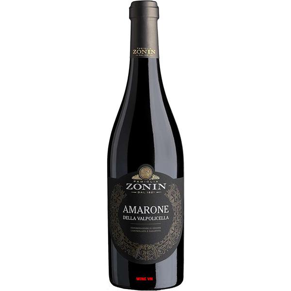Rượu Vang Zonin Amarone Della Valpolicella