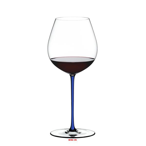 Ly RIEDEL Fatto A Mano Pinot Noir Dark Blue