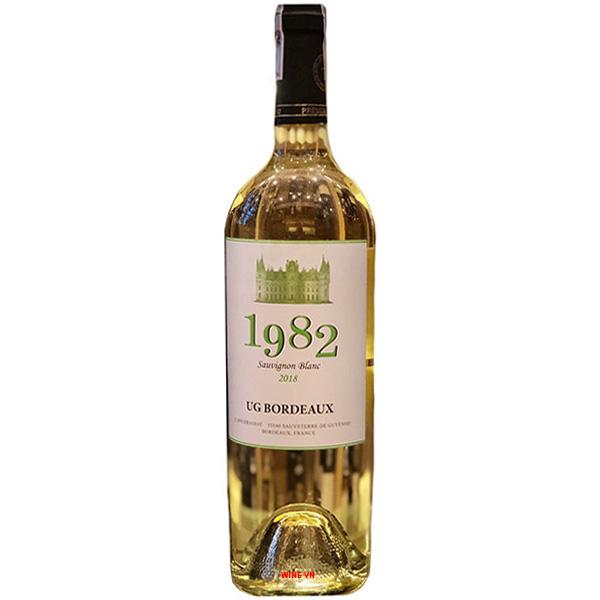 Rượu Vang 1982 UG Bordeaux Sauvignon Blanc