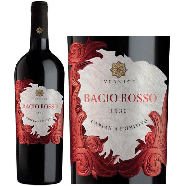 Rượu Vang Vernice Bacio Rosso Primitivo