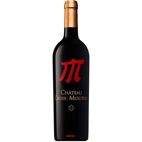 Rượu Vang Chateau Croix Mouton Special
