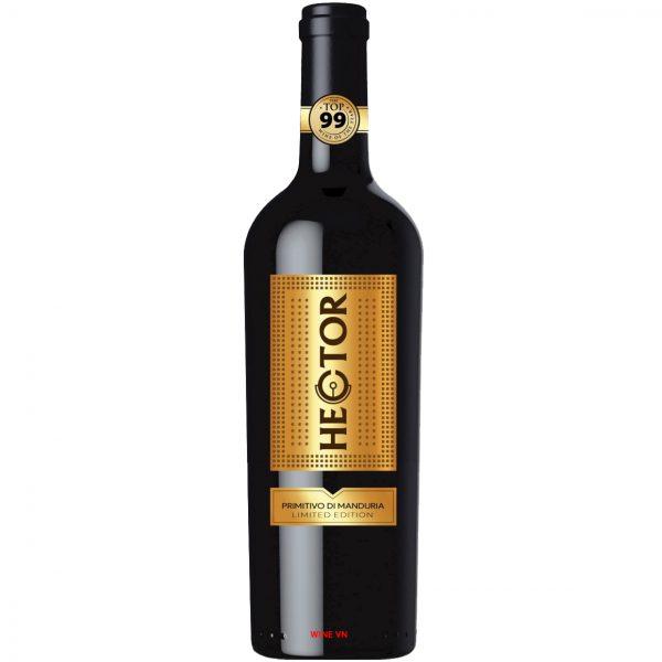 Rượu Vang HECTOR Primitivo Di Manduria
