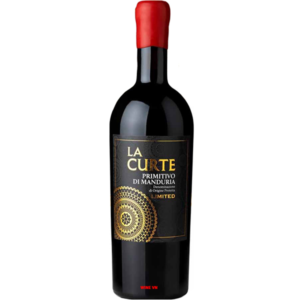 Rượu Vang La Curte Primitivo Di Manduria Limited