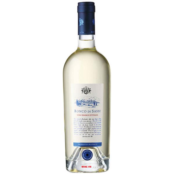 Rượu Vang Ronco Di Sassi Vino Bianco D'italia 97 Điểm